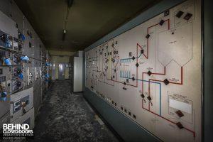 Winnington Works - Conveyor and lift switchroom