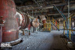 Winnington Works - Large pipes