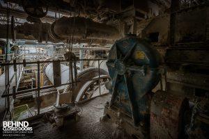 Winnington Works - Drive motor and gears