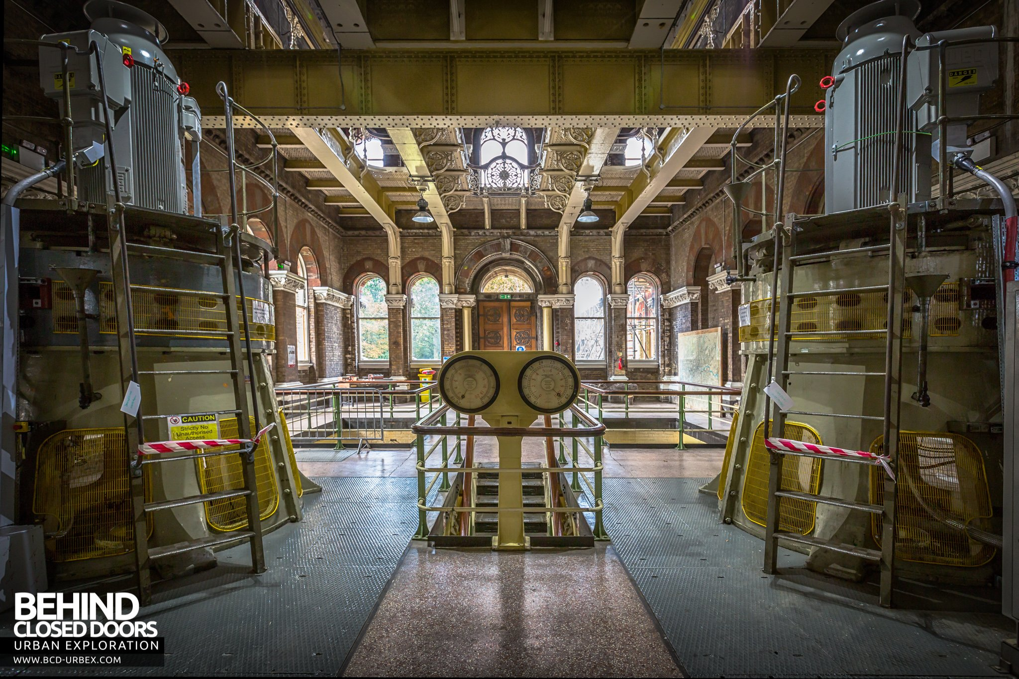 Abbey Mills Pumping Station London Uk 187 Urbex Behind