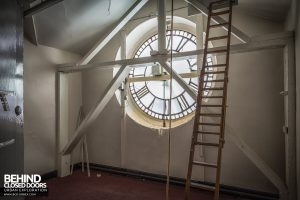 Royal London Hospital - Behind the clock
