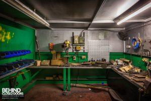 Lackenby Steelworks - Workshop