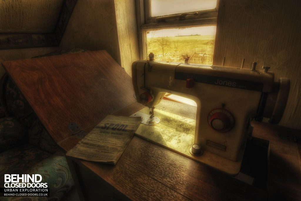 Widow's Farmhouse - Sewing Machine