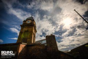 Sheffield Old Town Hall and Crown Courts - Clock tower external