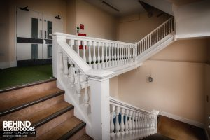 Royal Haslar Hospital - Large staircase