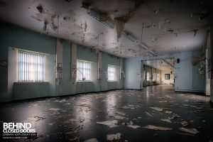 Royal Haslar Hospital - Decaying ward