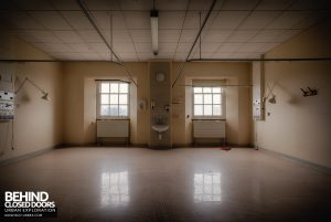 Royal Haslar Hospital - Empty room