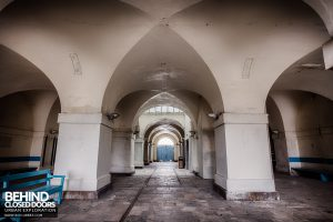 Royal Haslar Hospital - The arcade