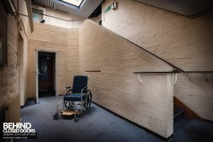 Royal Haslar Hospital - Wheelchair