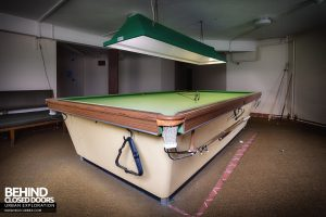 Royal Haslar Hospital - Pool table