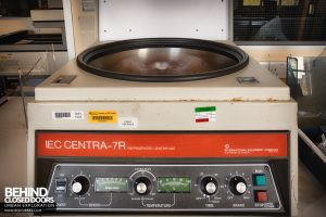 Royal Haslar Hospital - Centrifuge
