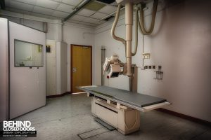 Royal Haslar Hospital - Small X-Ray Machine