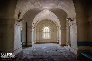 Royal Haslar Hospital - Columns and arches