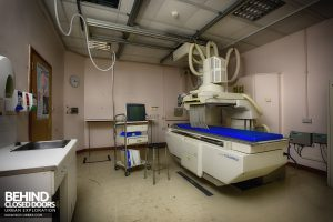 Royal Haslar Hospital - X-Ray Machine