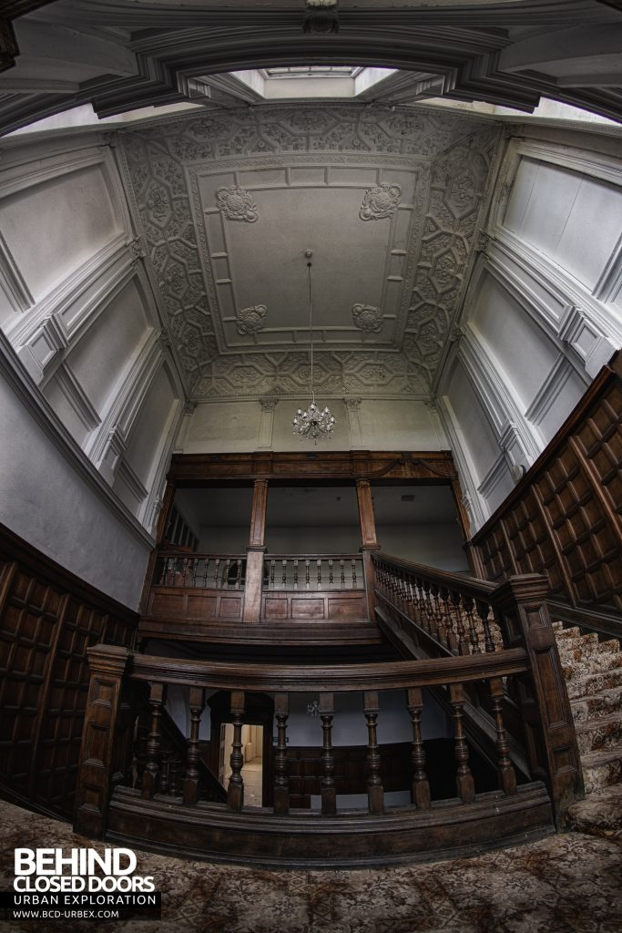 Kinmel Hall - View up the stairs