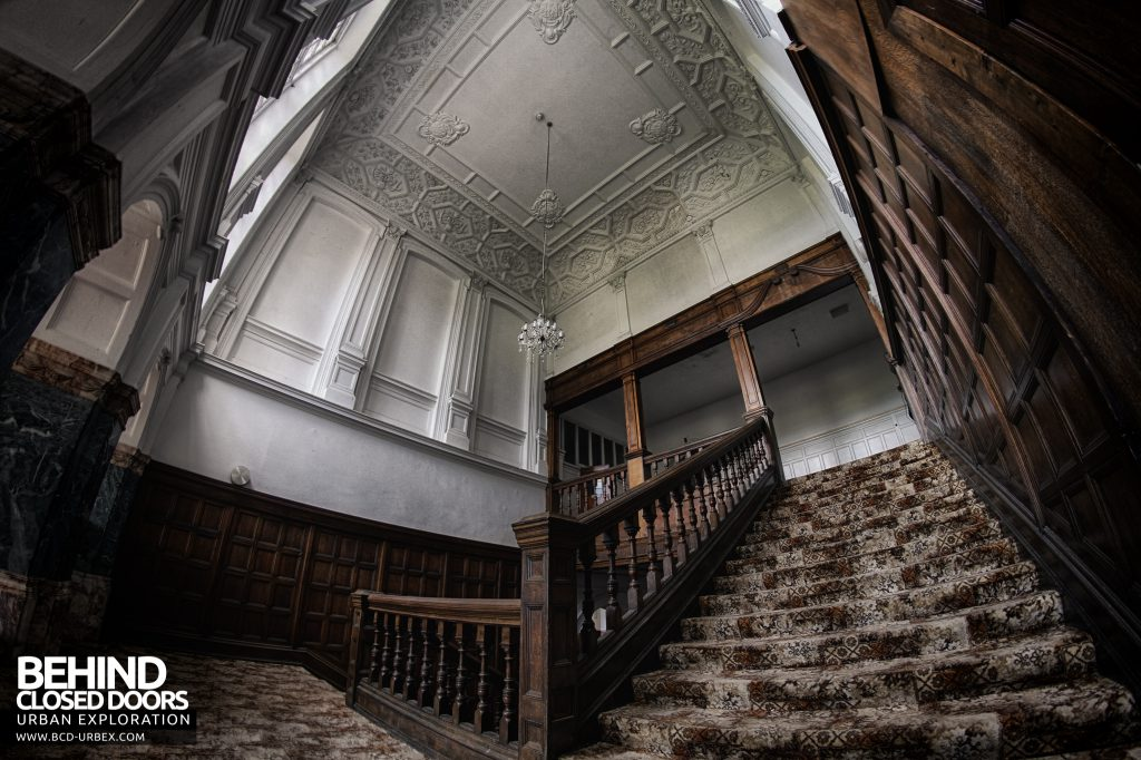 Kinmel Hall - On the stairs