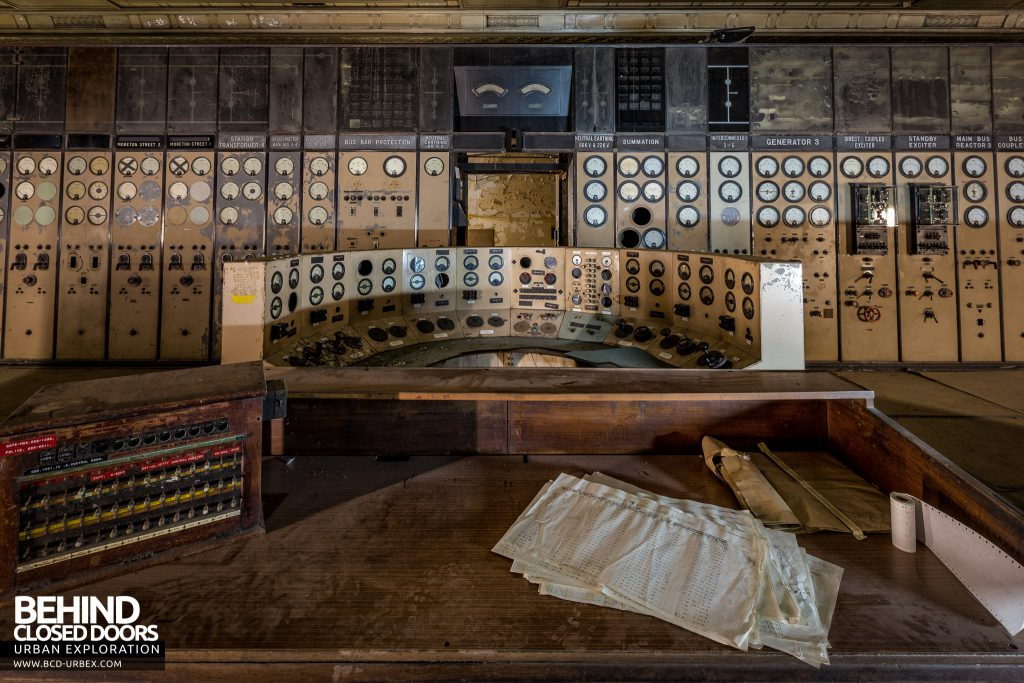 Battersea Power Station - Central command desk