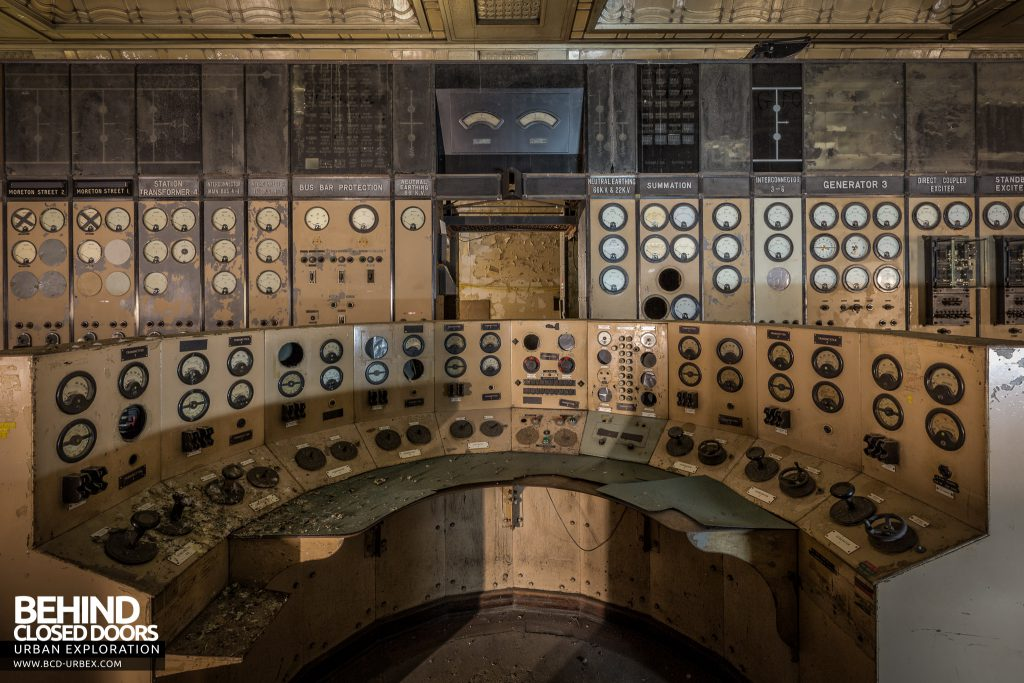 Battersea Power Station - Central control station