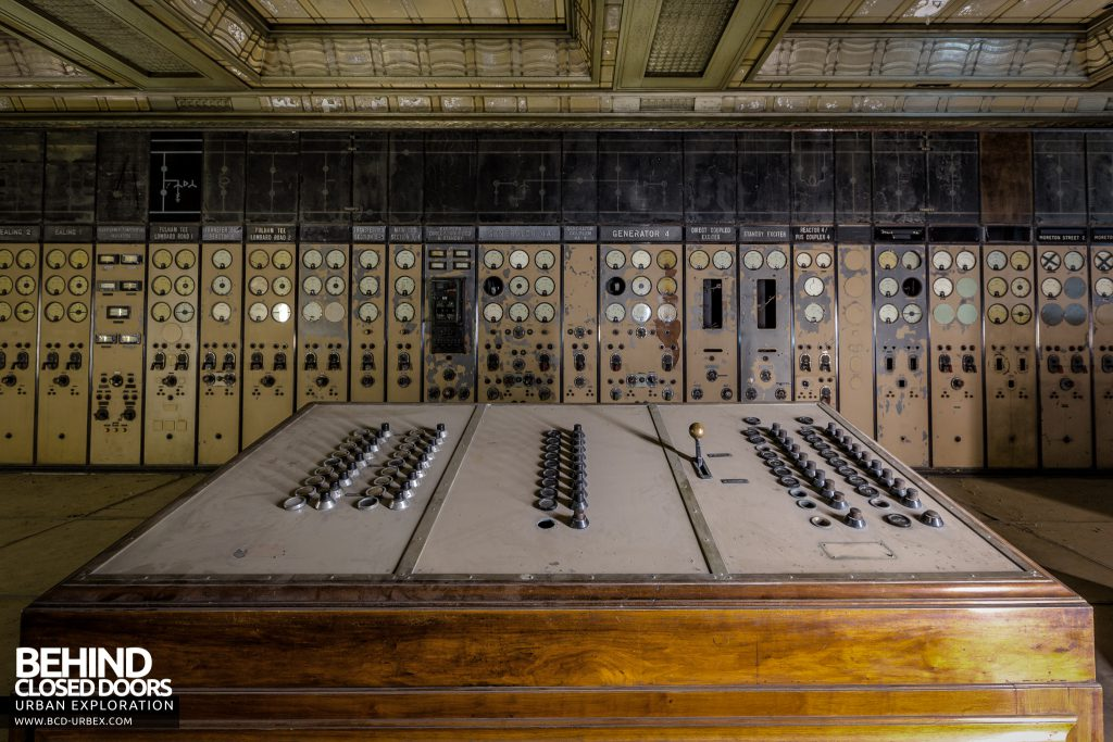 Battersea Power Station - Dusty control desk