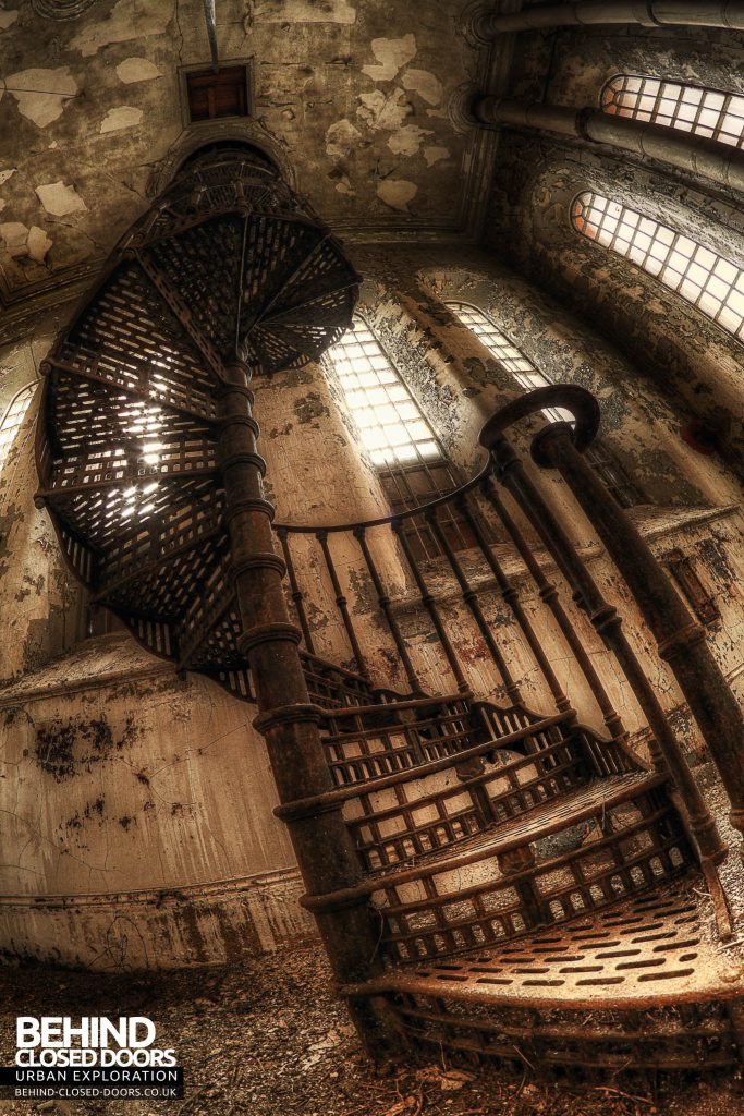 Bass Maltings - Spiral Staircase