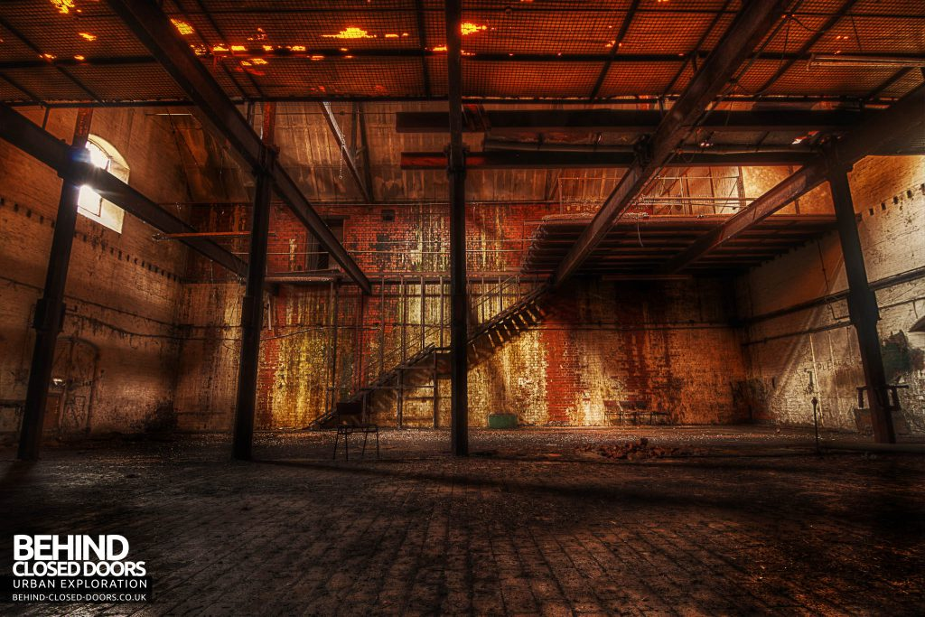 Bass Maltings - The room where they keep the orange glow