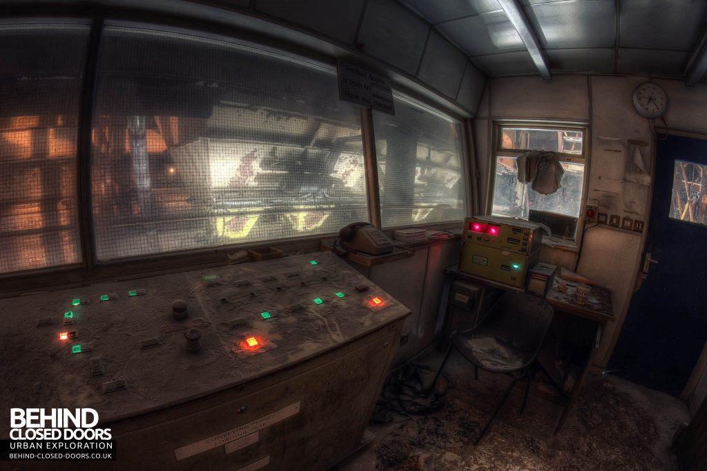 Soda Ash Works - Control Room