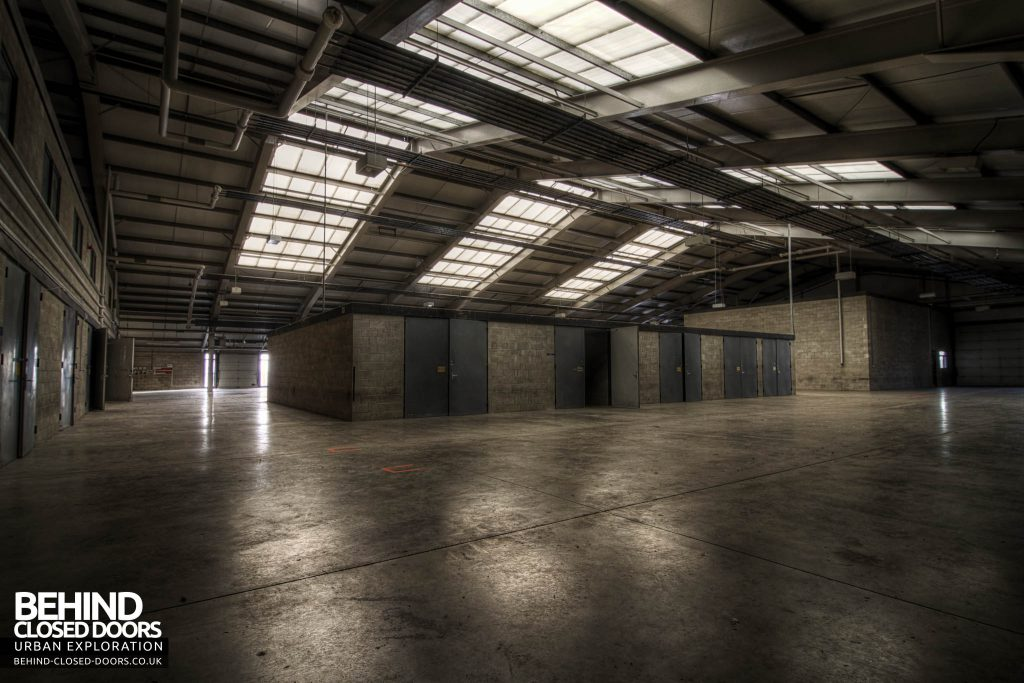 RAF Kirton Lindsey - New Looking Warehouse Hanger