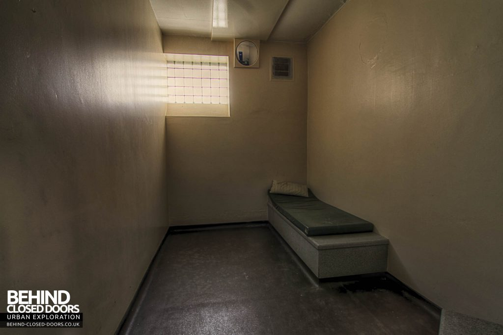 RAF Kirton Lindsey - Prison Cell