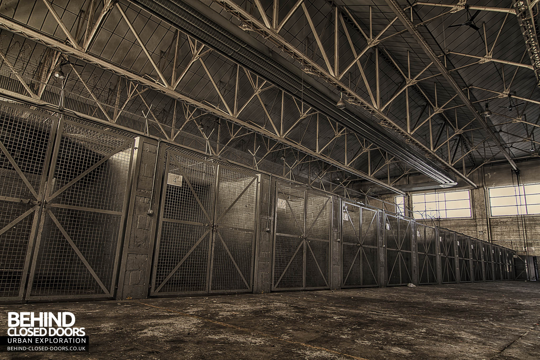 RAF Base - The Cages