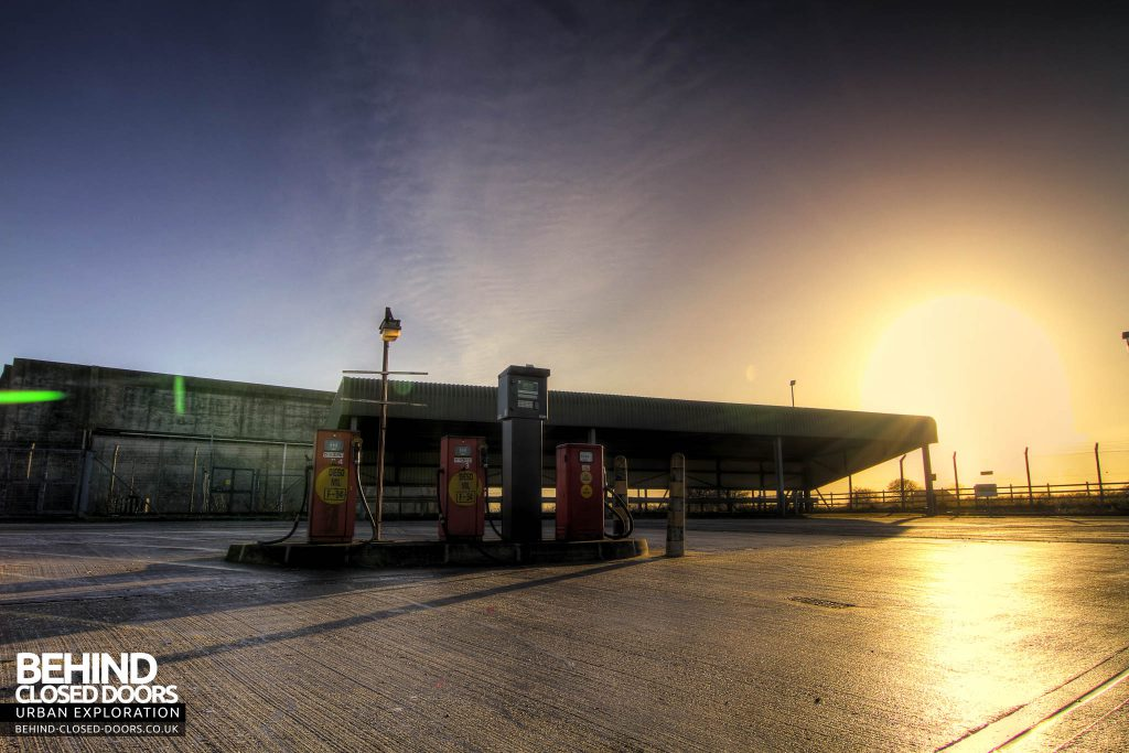 RAF Kirton Lindsey - Petrol Station
