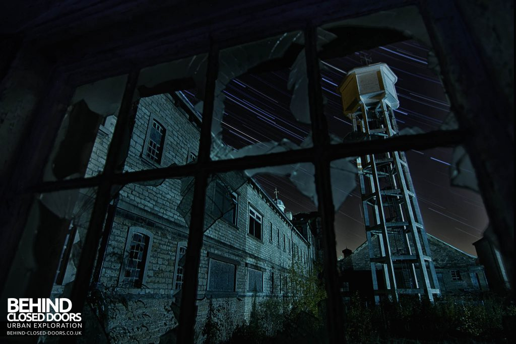"St John's Asylum - ""Silent Asylum"" Star Trail Night Shot"