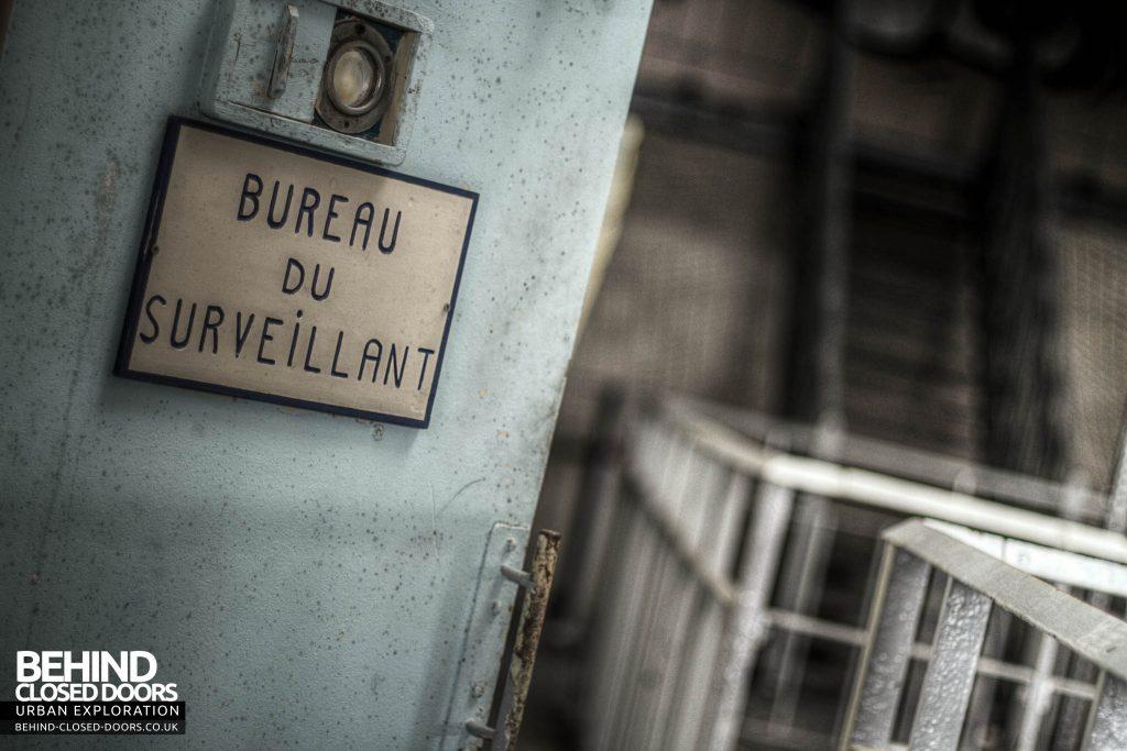 Prison de Loos - Bureau du Serveillant