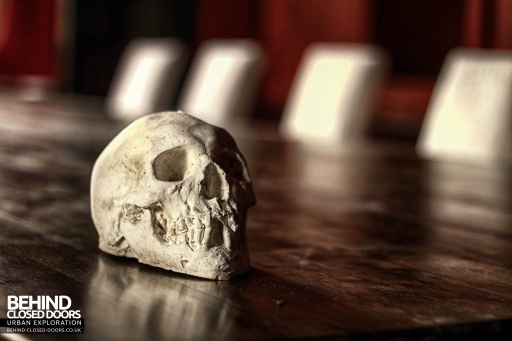 The Old Rectory - Skull on the Table