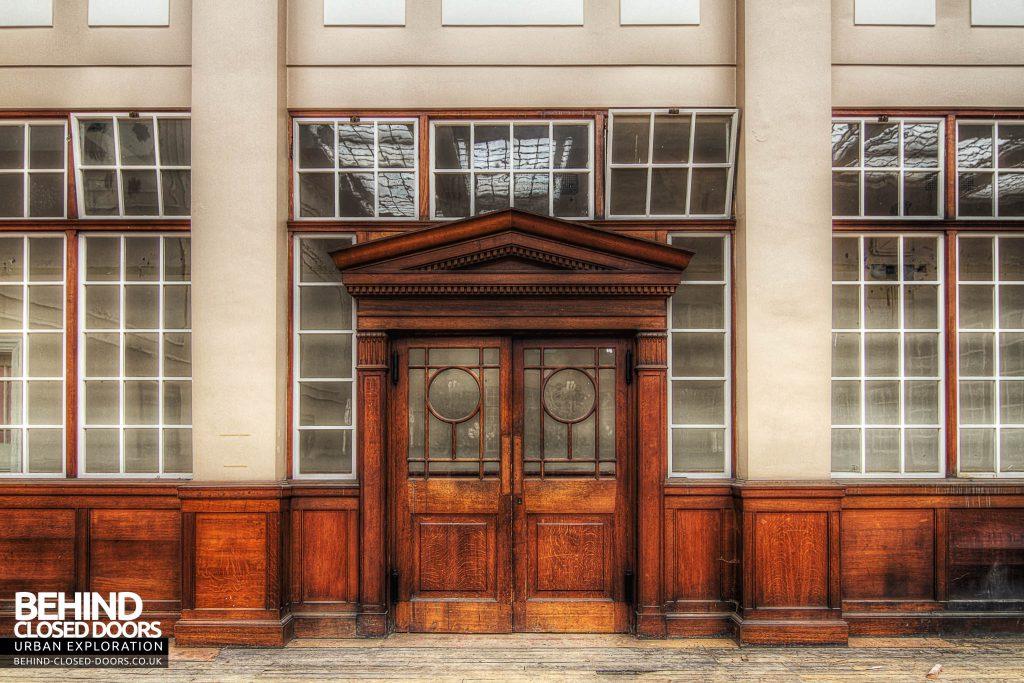 Chocolate Works - Doorway