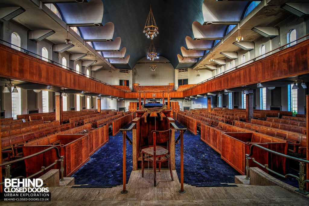 Greenbank Synagogue - View from the front