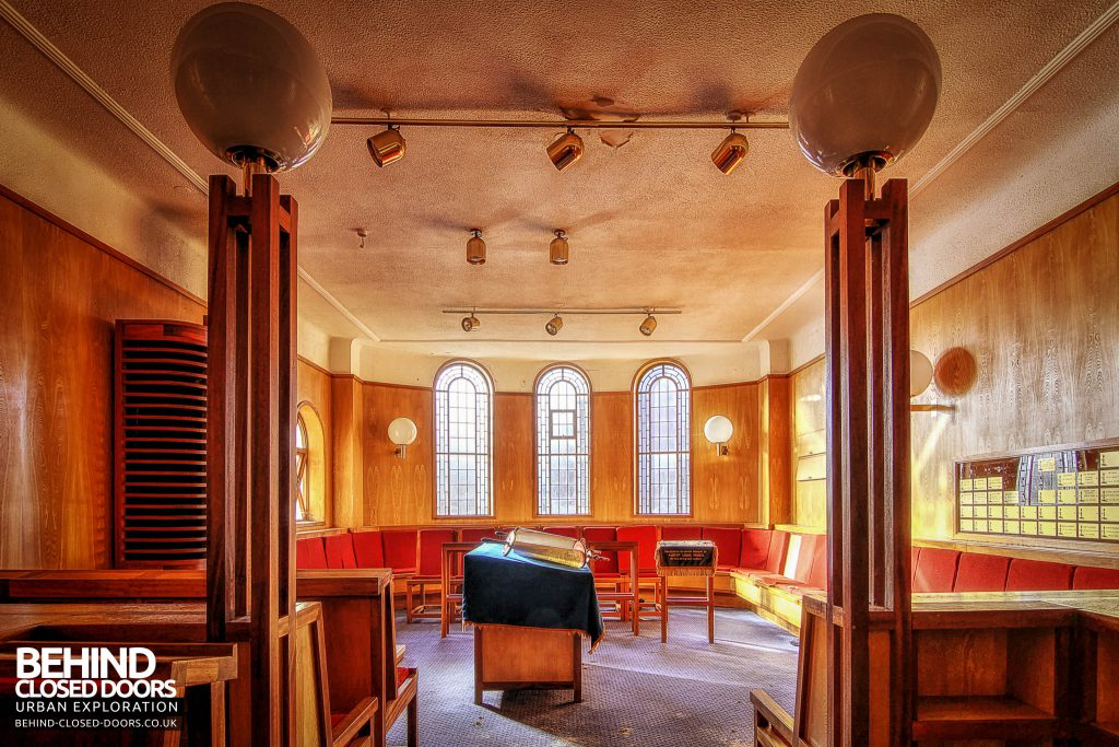Greenbank Synagogue - Lovely side room