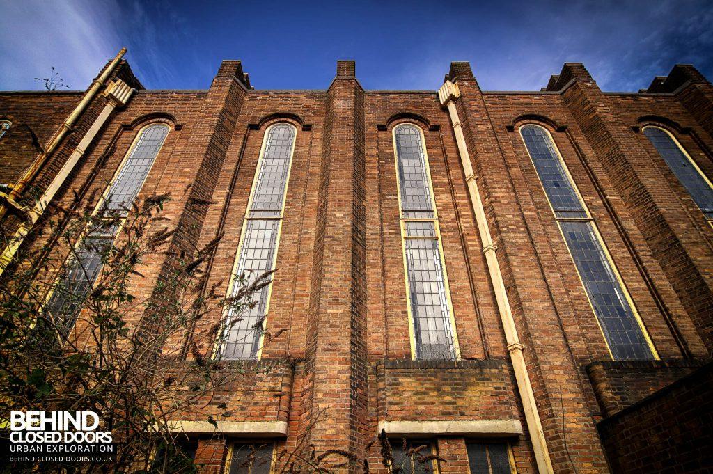 Greenbank Synagogue - External close-up
