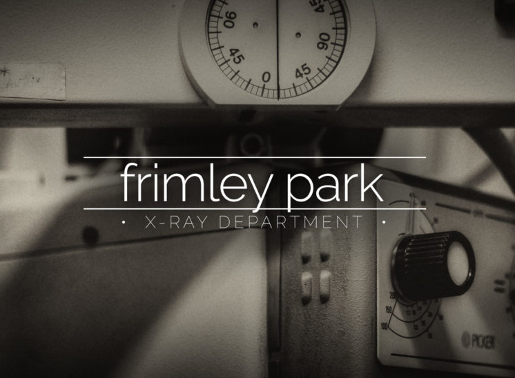 Frimley Park X-Ray Department at Cambridge Military Hospital