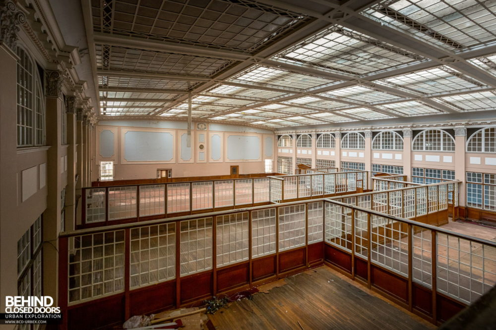 Terry's Chocolate Works, York - The vast administration hall