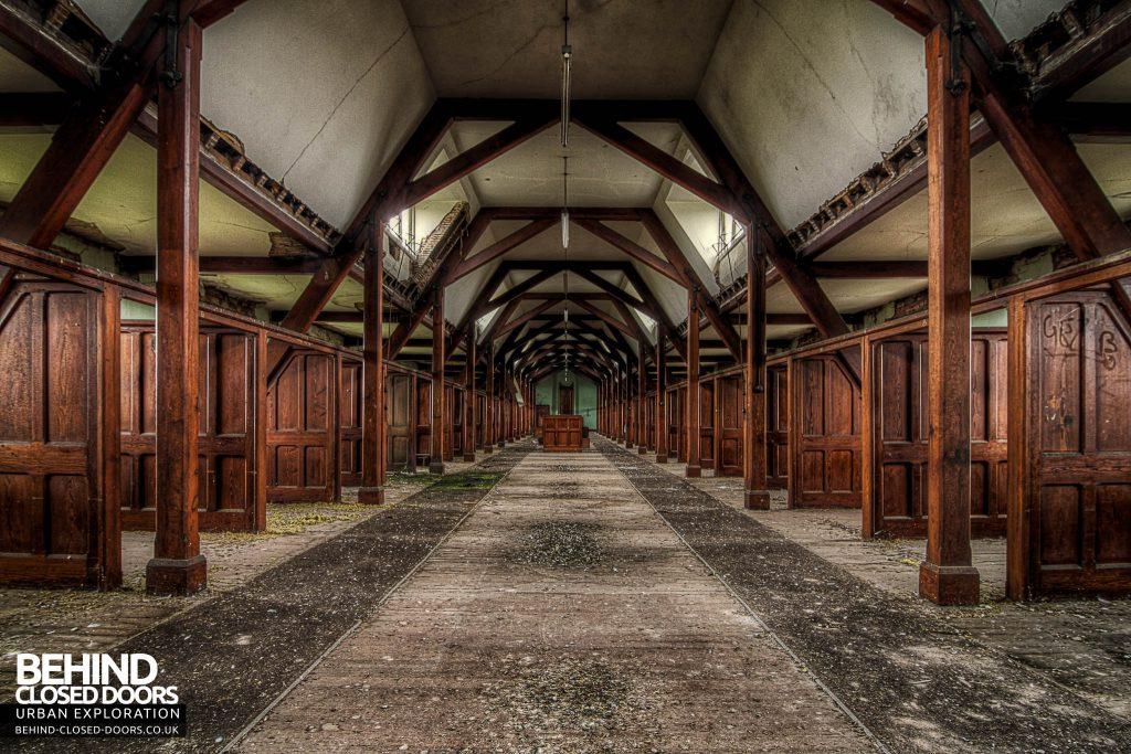 St Joseph's Seminary Upholland - Dormitory