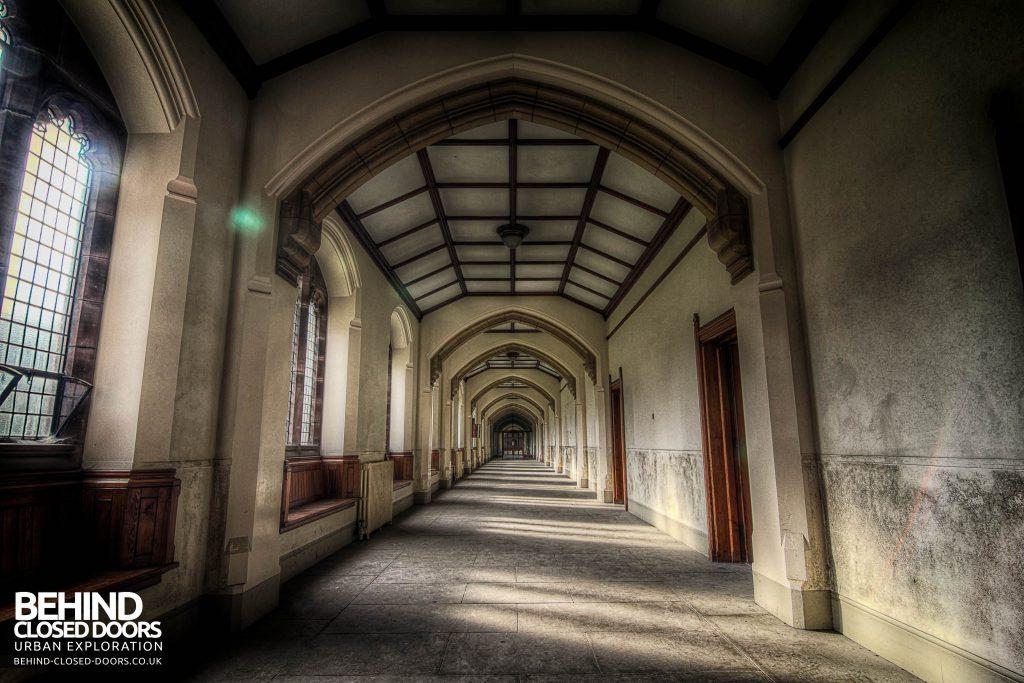 St Joseph's Seminary Upholland - Corridor
