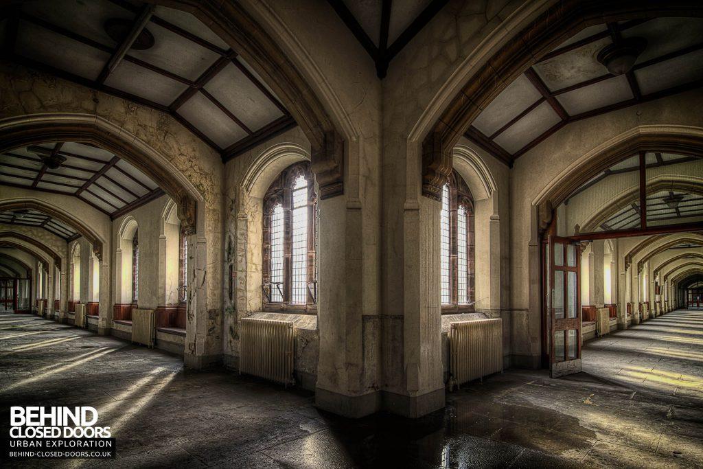St Joseph's Seminary Upholland - Double corridor