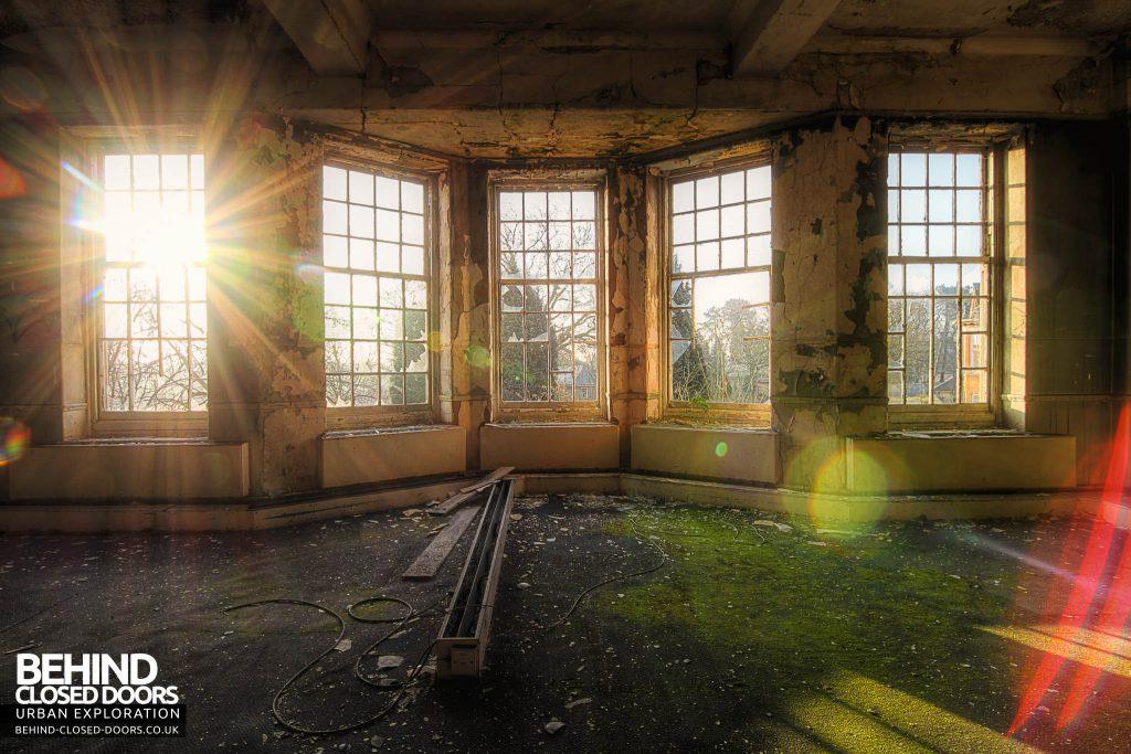 Severalls Hospital - Sunburst through Bay Window
