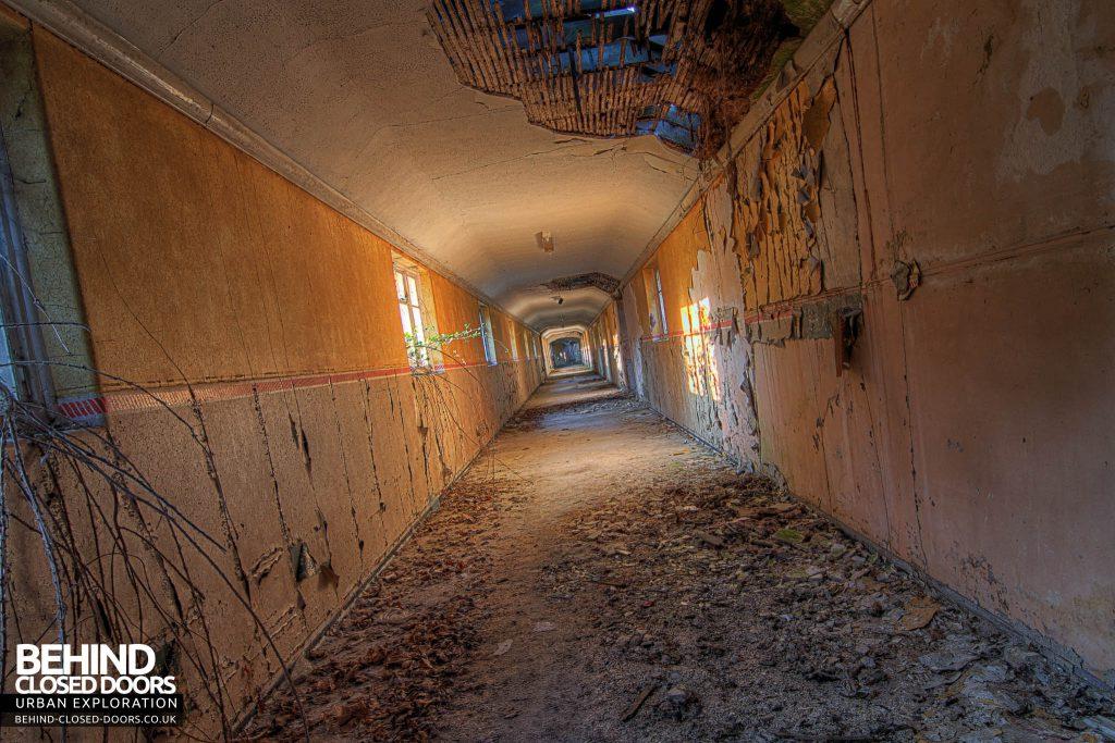 Severalls Hospital - Yellow Corridor