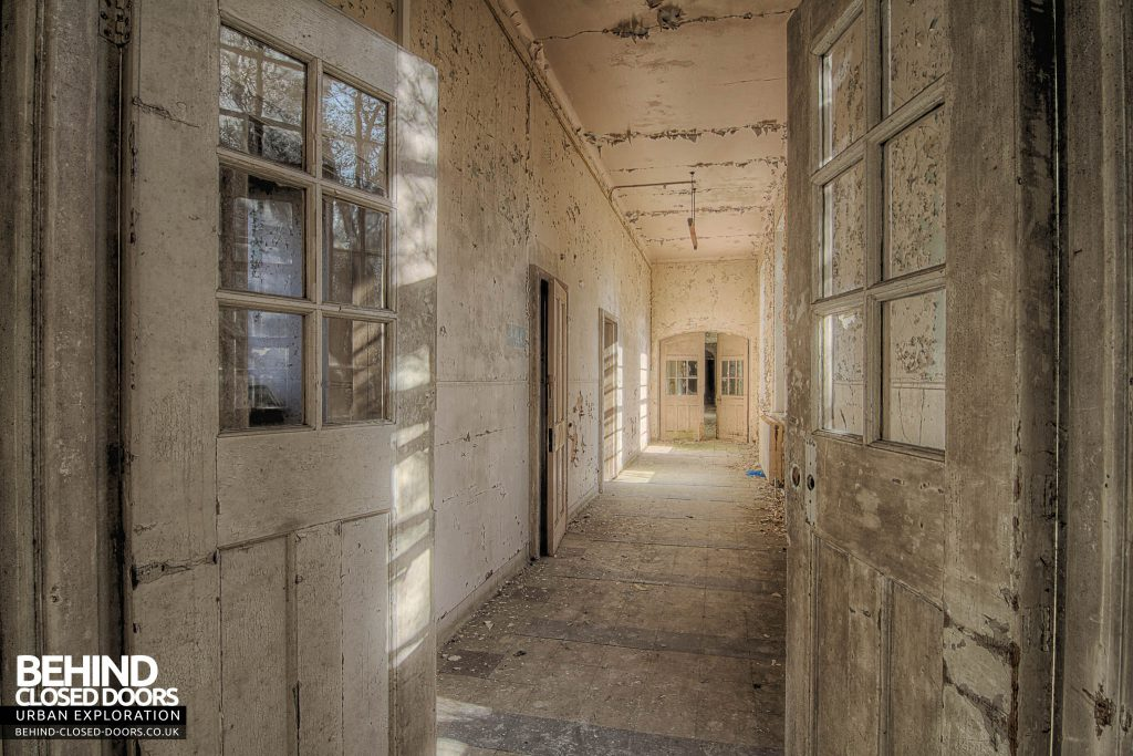 Severalls Hospital - Corridor