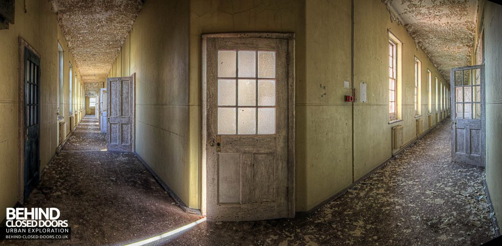 Severalls Hospital - Split Corridor