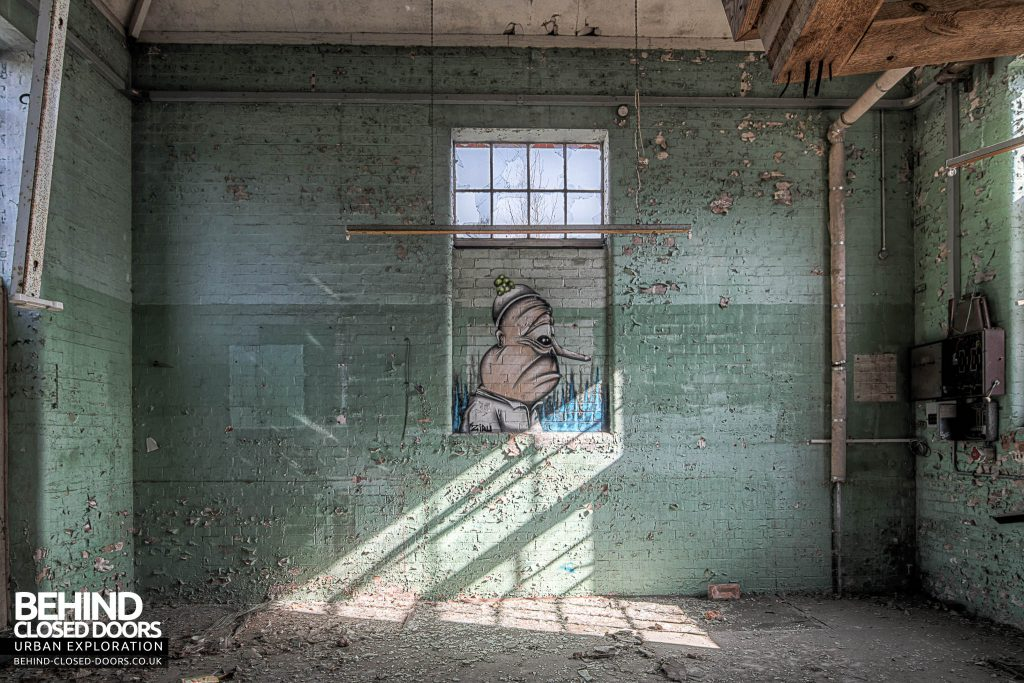 Severalls Hospital - Nice piece of Graffiti