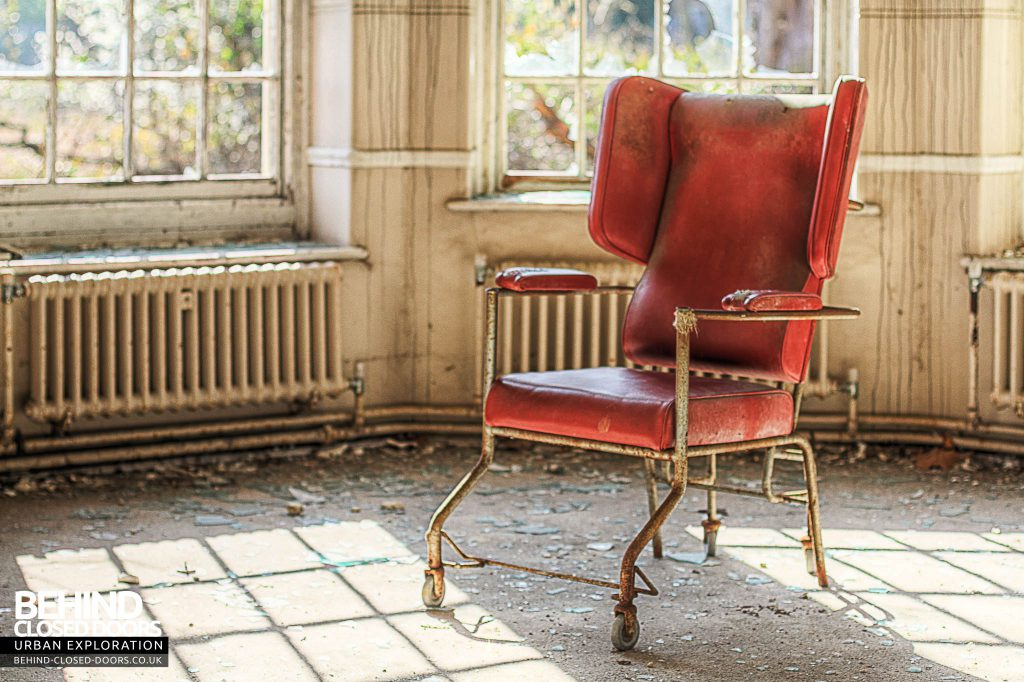 Severalls Hospital - The Infamous Red Chair