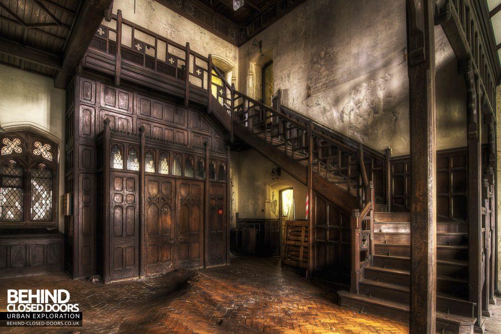 St Joseph's Seminary Upholland - Inside the main entrance