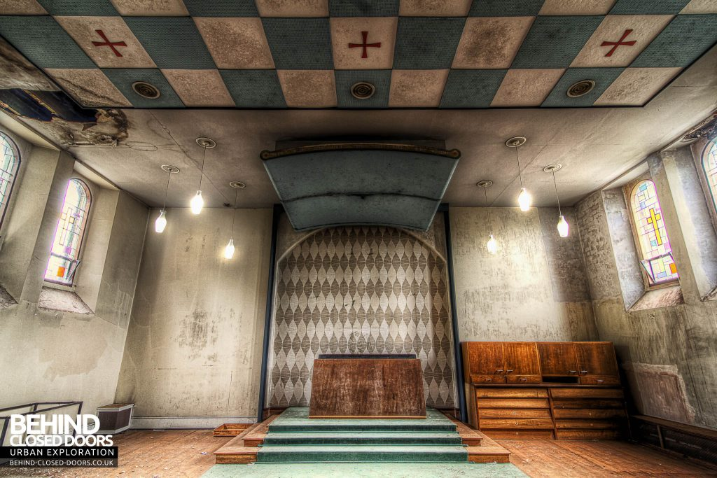 St Joseph's Seminary Upholland - Altar in one of the chapels